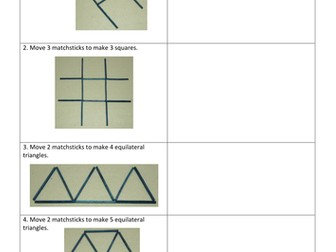 Matchstick math puzzles with answers pdf