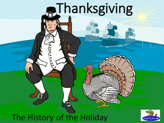 Thanksgiving History PowerPoint