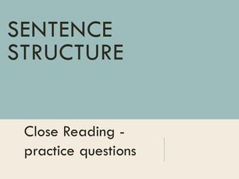 RUAE - Sentence Structure (Parenthesis)