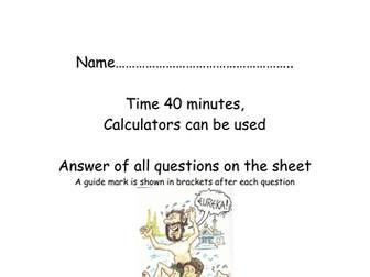Density and pressure homework
