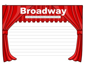 KS2: Broadway, Thanksgiving and 4th July (Resources for all lessons)