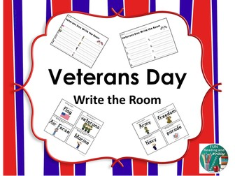 Veterans Day Write the Room