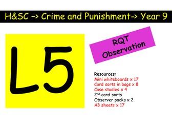 Aims of punishment Citizenship / PSHE / RE KS4 outstanding lesson