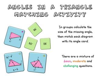 Angles: Triangle