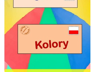 English > Polish: Numbers & Colours Vocabulary Books