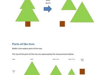 Python Christmas - Create a Xmas Tree Lesson
