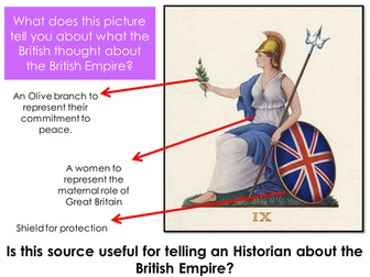 Why do people have contrasting ideas about the British Empire?