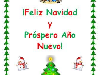 KS3 Spanish - Christmas activity booklet