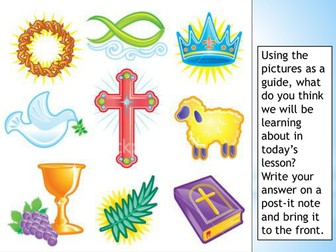 Symbols and artefacts in Christian worship