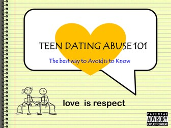 SRE - Teen relationships/abuse in dating