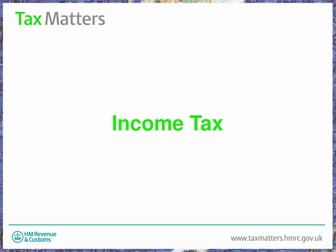 Understanding finances (Pay slips / Tax)