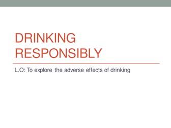 Drinking responsibly