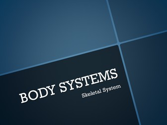 Human Body System PowerPoint Presentations