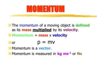 Physics - Momentum!