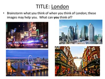 WILLIAM BLAKE - LONDON - AQA CONFLICT AND POWER