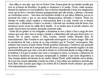 "KS4 Literature: ""Caperucita en Manhattan"" by C.M. Gaite"