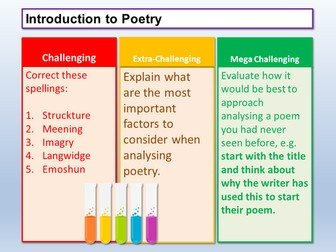 Poetry Analysis - Introduction AQA