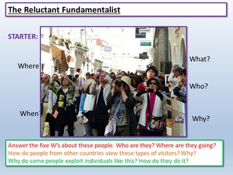 reluctant fundamentalist essay question Essays - largest database of quality sample essays and research papers on reluctant fundamentalist.