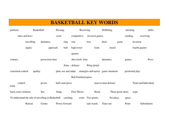 40 BASKETBALL LESSON PLANS