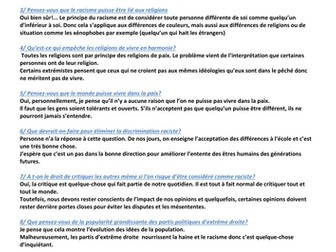 WJEC A2_Questions on...Le racisme