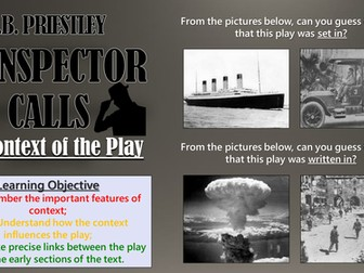 An Inspector Calls: The Context of the Play