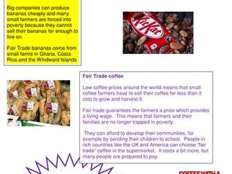 RE Yr9 Fairtrade - what is fairtrade?