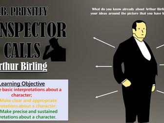An Inspector Calls: Arthur Birling
