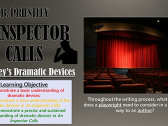 An Inspector Calls: Priestley's Dramatic Devices