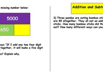 Year 6 Maths Problems