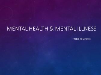 Mental Health v Mental Illness