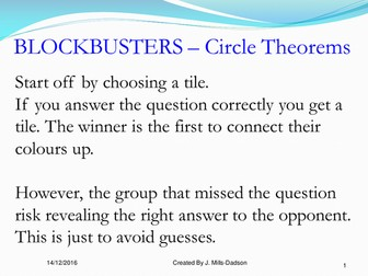 Interative Games on Circle Theorems