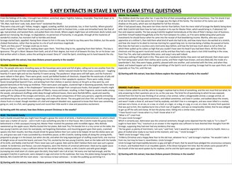 A Christmas Carol: Differentiated comprehension questions on Stave 1 - 5. by ...