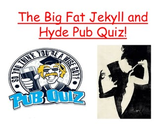 Jekyll and Hyde Quiz