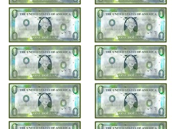 Play Money / Simulation Dollar Bills