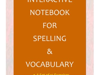 NAPLAN: Year 5 Interactive Notebook for Spelling & Vocabulary
