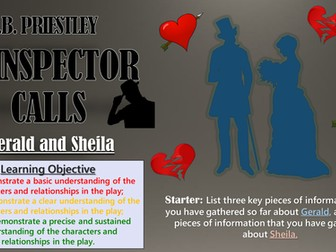 An Inspector Calls: Gerald and Sheila