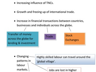 Economic Impacts Globalisation