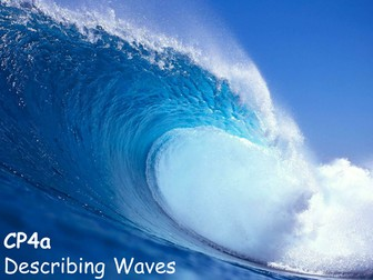 Edexcel CP4a Describing Waves