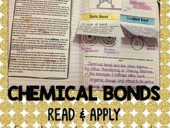 Chemical Bonds Read and Apply Activity