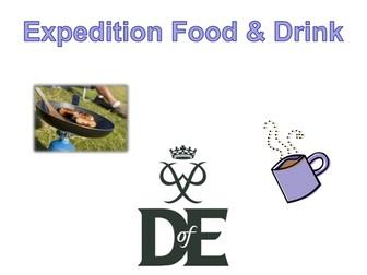 Duke of Edinburgh Expedition Food & Drink