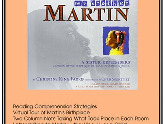 Martin Luther King Jr. - Guided Reading and Activities
