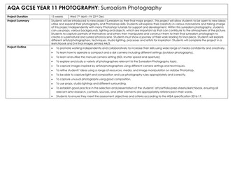 Surrealism Photography - Schemes of Work
