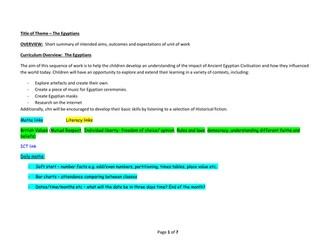Year 3 Autumn 1 Medium Term Overview/Planning
