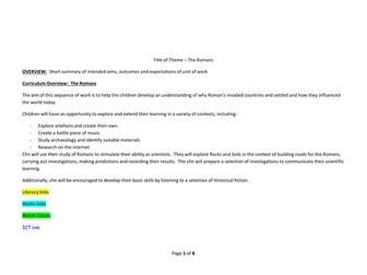 Year 3 Autumn 2 Medium Term Overview/Planning