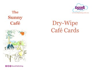 Cafe Resources to teach money/problem solving