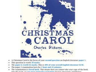 A Christmas Carol extract questions