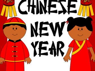 Chinese New Year activities and crafts