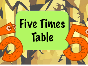 Five Times Table Practice