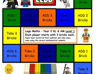 Maths Games (Lego)