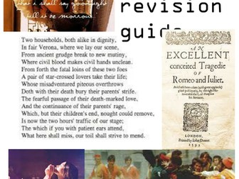 Romeo and Juliet revision workbook
